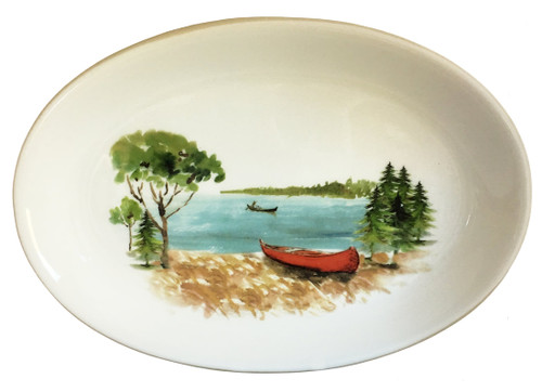 A Day at the Lake Oval Serving Platter