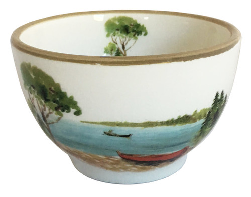 A Day at the Lake Dessert or Salad Bowl