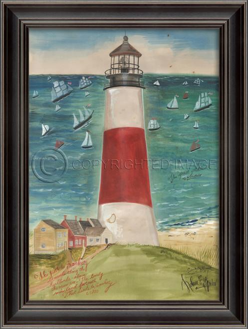 The Path to SanKaty Lighthouse Art