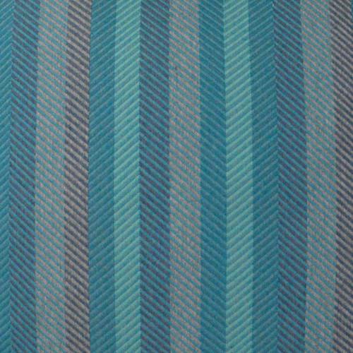 Latitude Peacock Lumbar Indoor-Outdoor Pillow fabric close up