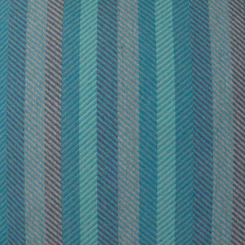 Latitude Peacock Indoor-Outdoor Pillow fabric close up