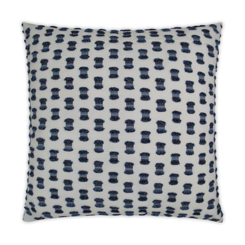 Fifi Indigo Blue 22 x 22 Pillow