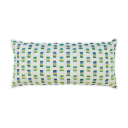 Fifi Green Indoor-Outdoor Lumbar Luxury Pillow