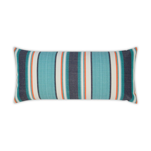 Montauk Stripes Luxury Lumbar Pillow