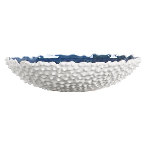 Fijian Reef White Bowl