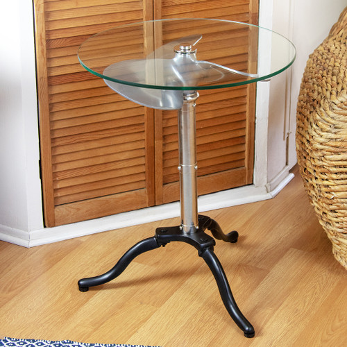 Ship Propeller Accent Table