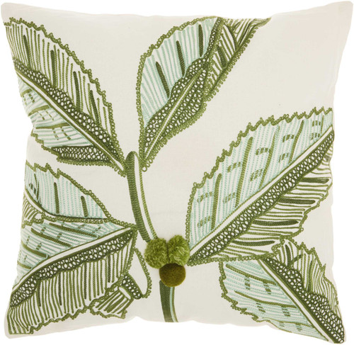 Royal Palm Tropical Coconut Tree Pillow