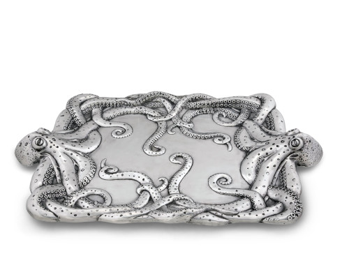 Polished Octopus Centerpiece Tray 2
