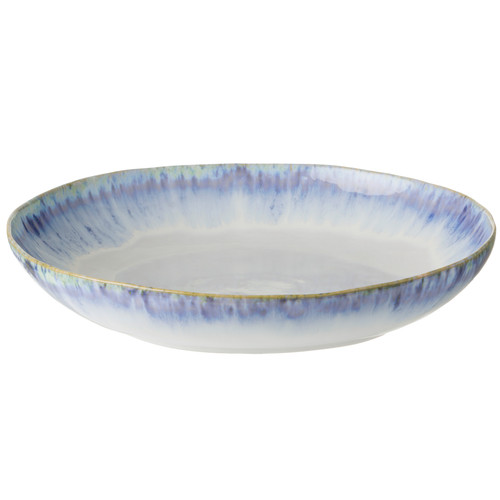 Brisa Ria Blue Pasta Serving Bowl