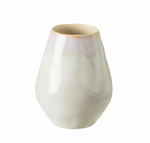 Brisa Salt and Sea Small Oval Vase