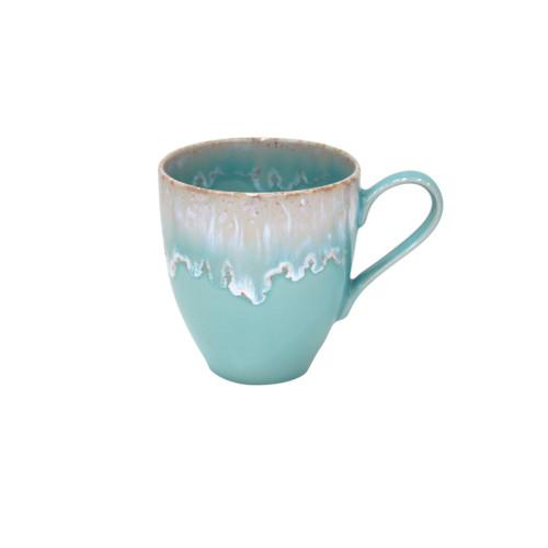 Taormina Aqua Stoneware Mugs