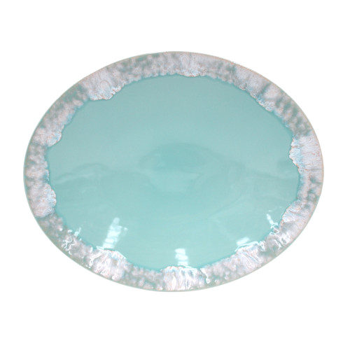 Taormina Aqua Oval Platter