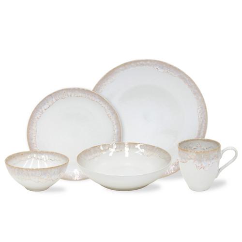 Taormina White Dinnerware group