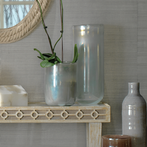 Medium Vapor Vase in Metallic Opal pictured with large version