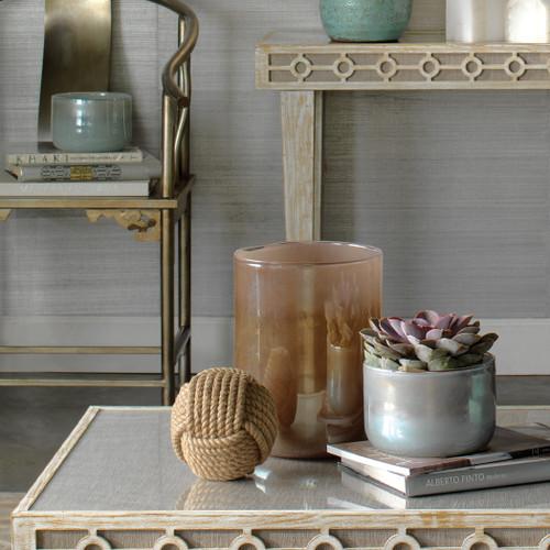 Small Vapor Vase in Metallic Opal beauty image