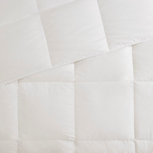 All Season Warmth Oversized Down Comforter Insert - King Size close up