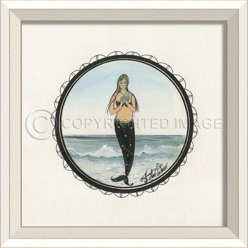Porthole to the Mermaid with Spotted Tail