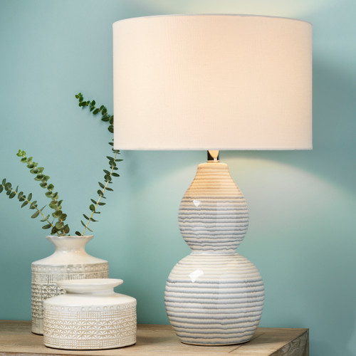 Catalina Wave Table Lamp lifestyle