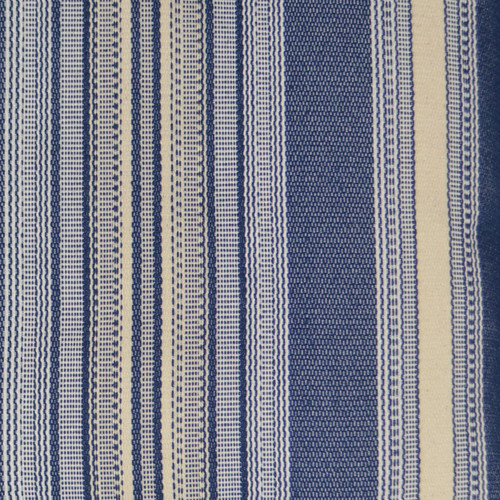 Topsail Stripes Pillow fabric close up
