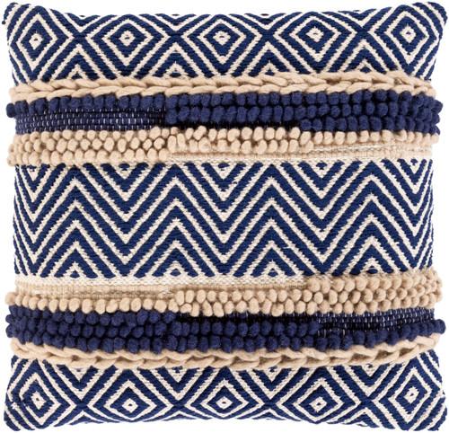 Avalon Shore Hand-Woven 18 x 18 Pillow