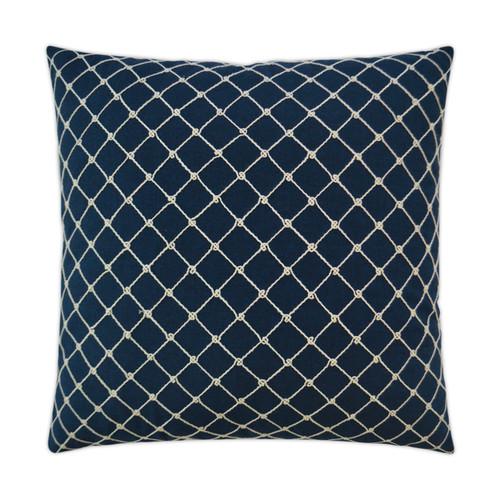 Crossropes Indigo Luxury Pillow