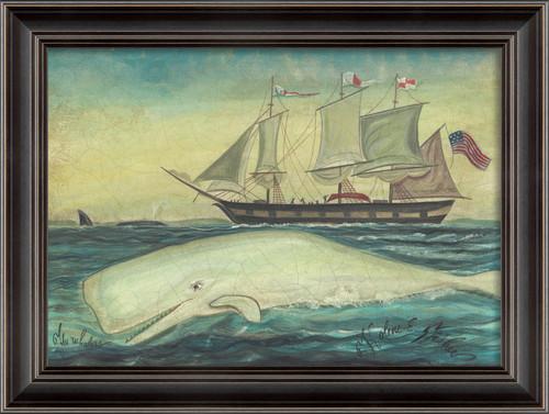 White Whale and Nantucket Sails Art