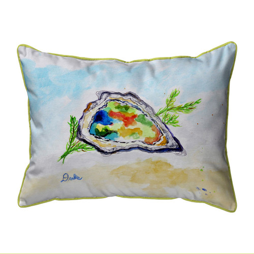 Colorful Oyster Large Indoor-Outdoor Pillow