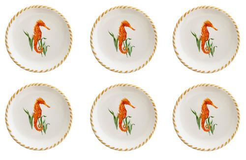 Seahorse Small Plates - Set of Six