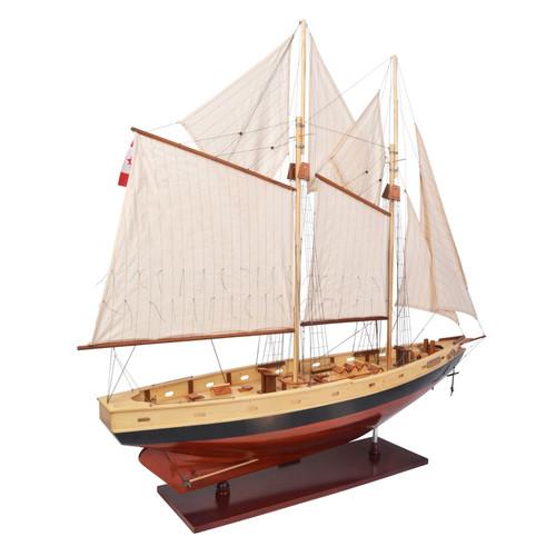 Bluenose II Painted Sailing Model