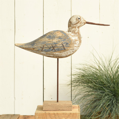 Navy and Driftwood Sandpiper Decor beauty