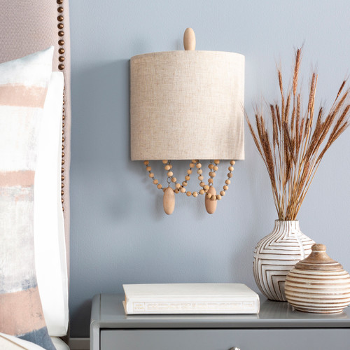 Emerlyn Beaded Wall Sconce room view 2