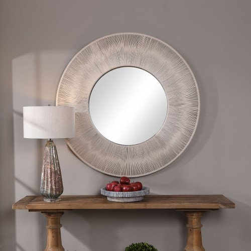 Sailor's Knot Round Mirror room view 1
