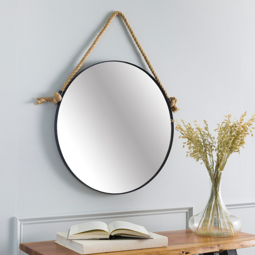 Tacoma Waterfront Round Mirror-Large room view