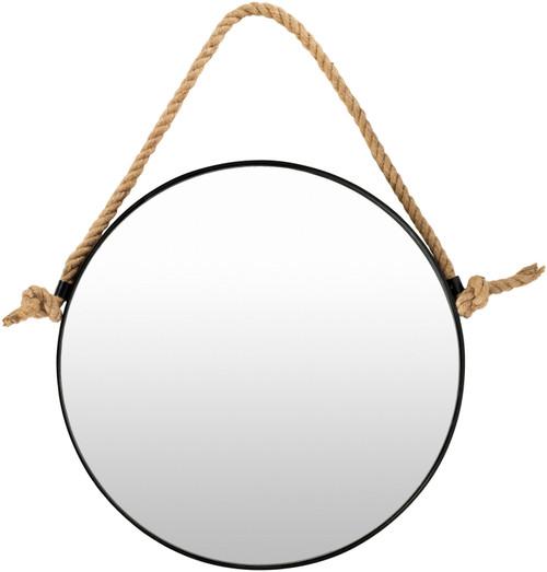 Tacoma Waterfront Round Mirror-Small
