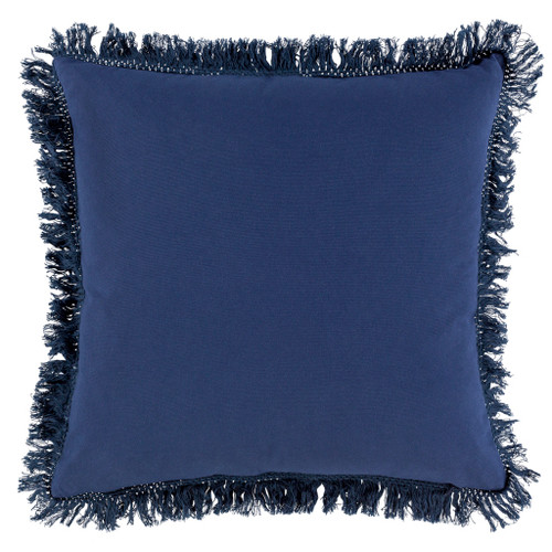 Castaway Nautical Fringed 20 x 20 Pillow back pillow view