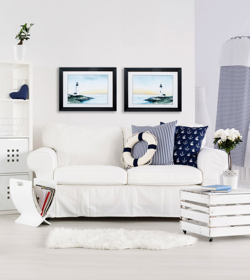 Lighthouse Bay Images - Set of Two room example