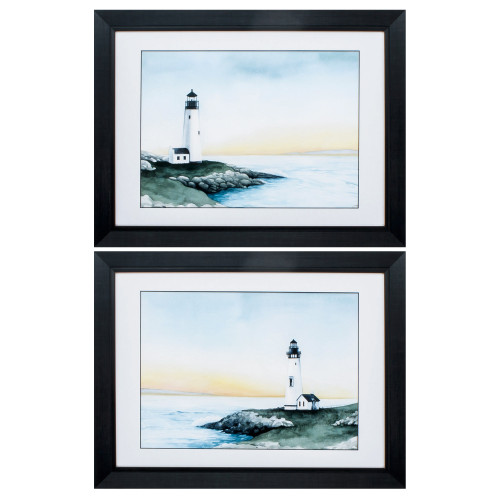 Lighthouse Bay Images - Set of Two
