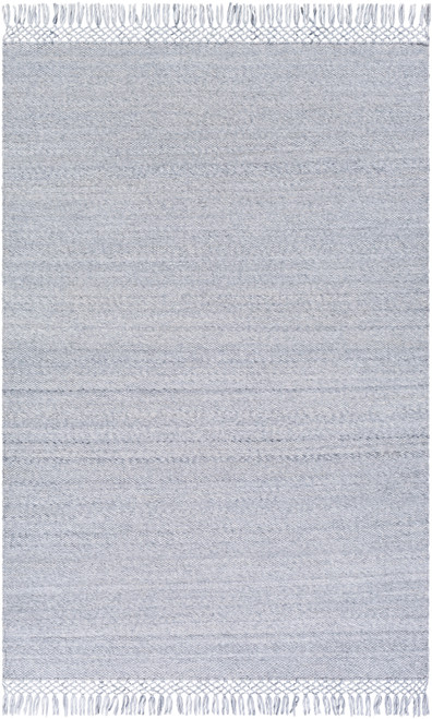 Azores Vapor Grey Braided Woven Rug main image