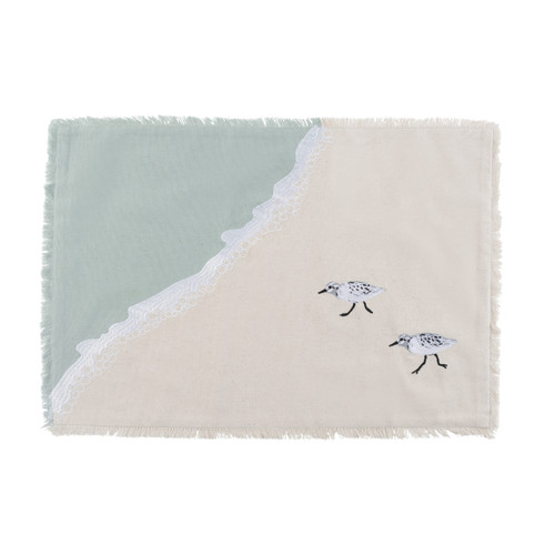 Sprinting Sand Pipers Placemats - Set of Four  main image