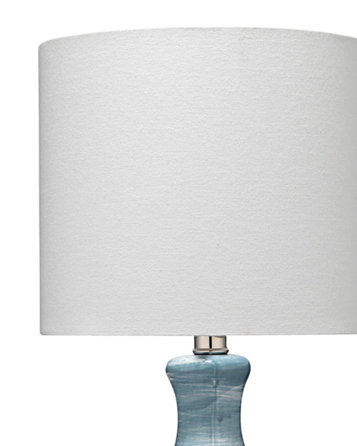 Bungalow Blue Swirled Table Lamp