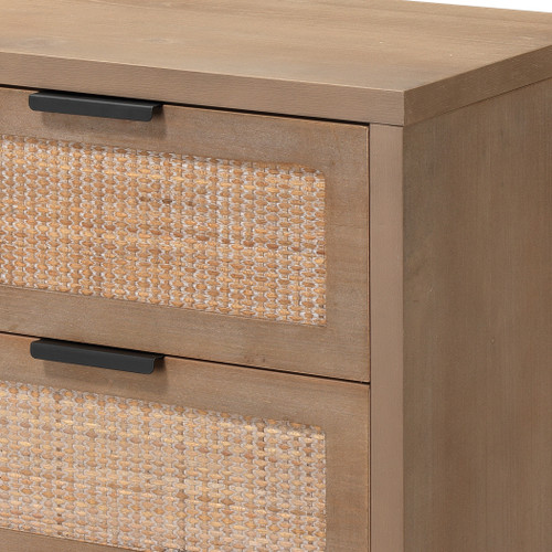 Rincon 3-Drawer Side Table close up