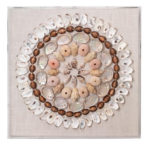 Bondi Multi-Colored Shells Wall Art
