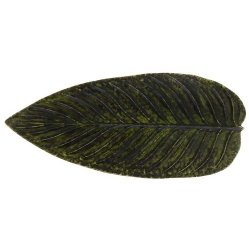 Riviera Strelizia Leaf Platter - Forest