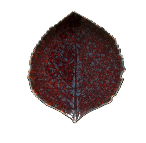 Riviera Hydrangea Small Leaf Plate - Vigne