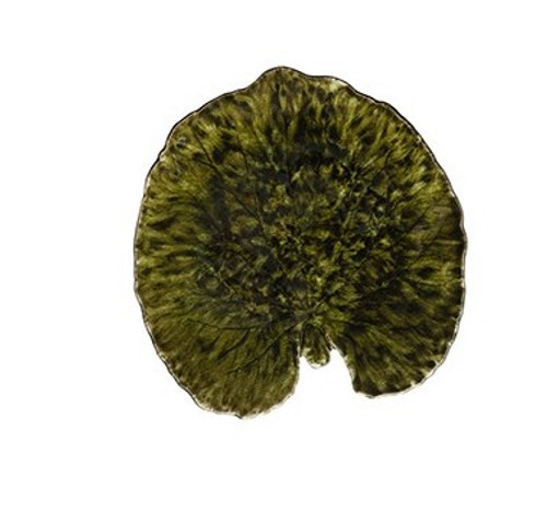 Riviera Alchemille Leaf Plate - Forest
