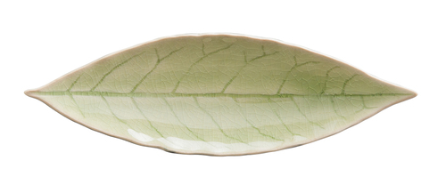 "Riviera Laurel Leaf 7"" Plate - Vert Frais"