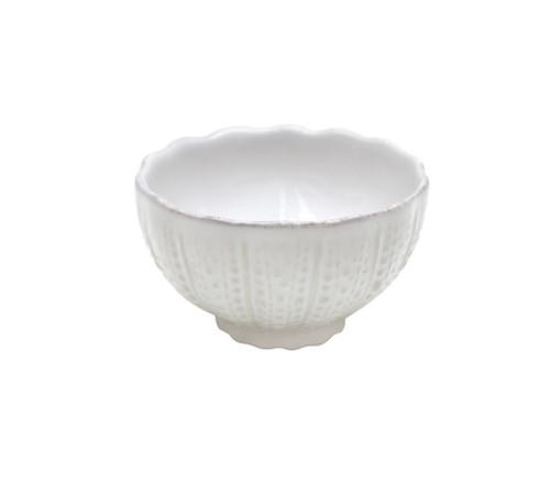 Sea Urchin Small White Aparte Bowls - Set of Six