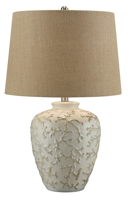 CVAP1796 - Sand and Coral Details Table Lamp