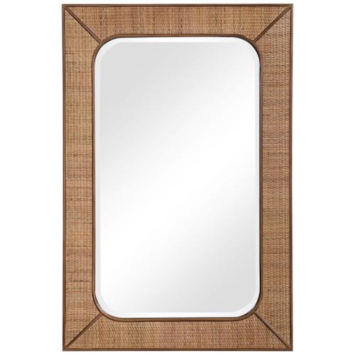 Tahiti Rattan Framed Mirror