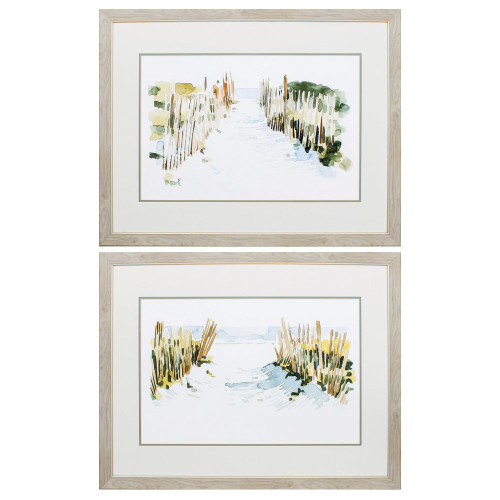 Beach Dune Impressions - Set of Two